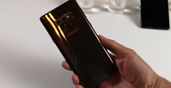 samsung galaxy note 9 copper