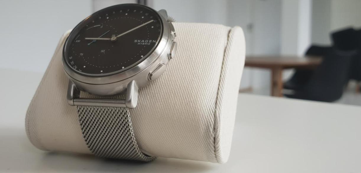 d8a7e621a0fa Test og anmeldelse  Skagen Connected  Flot hybrid smartwatch