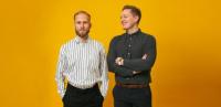 Stifterne af etilbudsavis Christian Birch og Morten Bo Ronsholdt