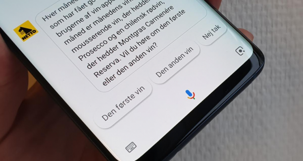 google assistant actions netto coop matas
