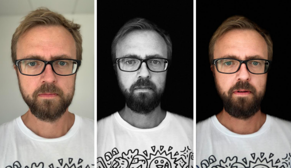 test af kamera iphone xs max selfie