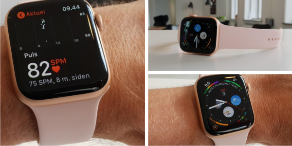 apple watch series 4 test pris