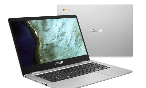 Ny Asus C423 Chromebook i mellemklassen med 14 tommer skærm