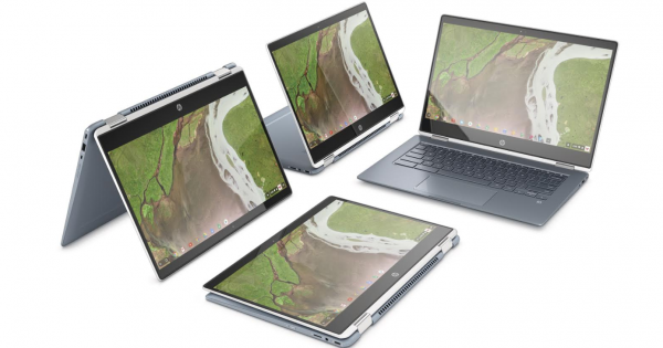 HP Chromebook x360 14 pris