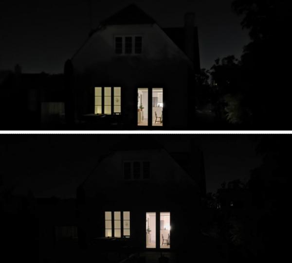 bedst kamera iphone s max huawei mate 20 pro mørke