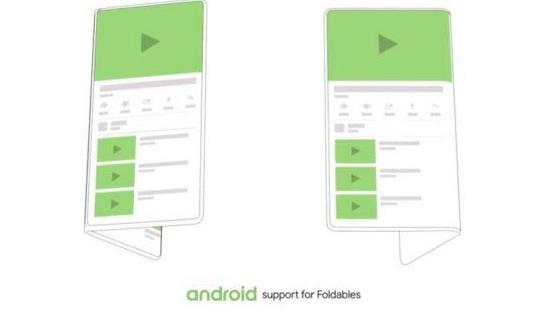 android foldbare enheder