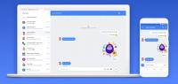 android beskeder message nettet
