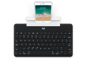 Logitech Keys-to-Go Ultra Slim-tastatur med iPhone-holder 519,00 kr.