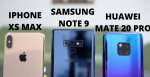 Video: Bedste mobiltelefon 2018 – Huawei Mate 20 Pro vs Samsung Galaxy Note 9 vs iPhone Xs Max