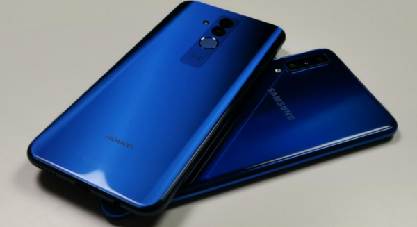 huawei mate 20 lite vs samsung galaxy a7 test