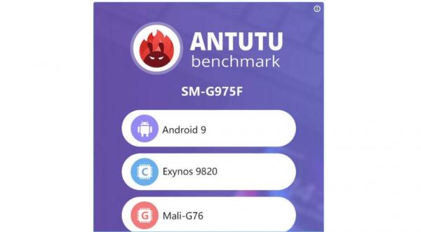 AnTuTu benchmark viser Samsung Galaxy S10 Plus med Exynos 9820