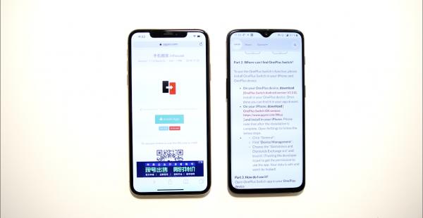 Sådan skifter du fra iPhone til Oneplus 4
