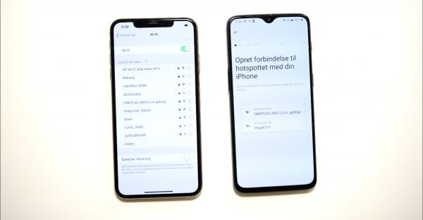Sådan skifter du fra iPhone til Oneplus 7