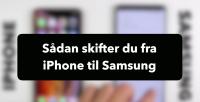 flyt indhold fra iphone til samsung