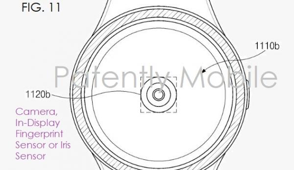 samsung fingeraftryksscanner smartwatch