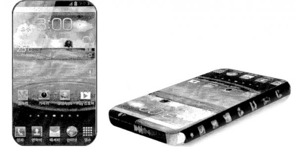 Samsung-patent på smartphone helt uden ramme