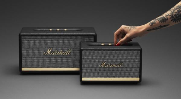 Action og Stanmore højtalerne fra Marshall får Google Assistant