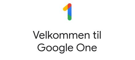 Google Drev bliver nu ændret til Google One