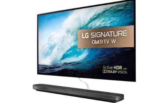 bedste 4k tv  LG SIgnature OLED pris