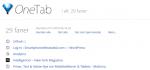 Tip: OneTab gør Chrome browser mere kraftfuld