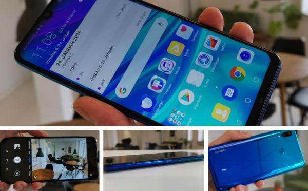 test anmeldelse huawei p smart 2019