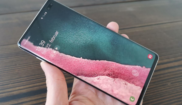 test anmeldelse samsung galaxy s10 plus