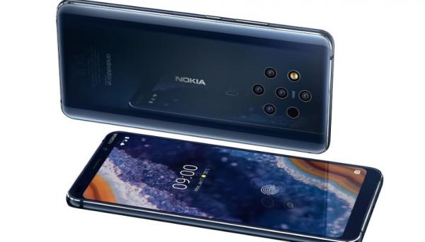 Nokia 9 PureView –verdens første mobil med fem kameraer på bagsiden