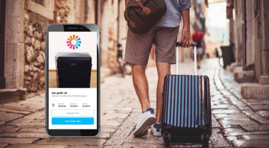 momondo rejse app bagage