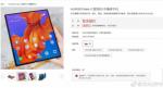 Huaweis egen salgsbutik lækker salgstart for foldbare Mate X
