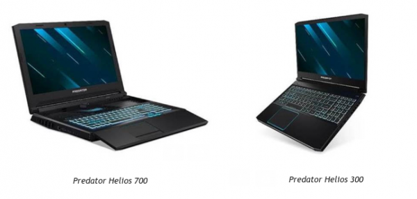 Predator Helios 700 og Helios 300