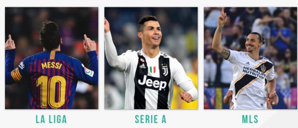 Telia TV giver adgang til La Liga, Serie A og MLS via Strive Sport