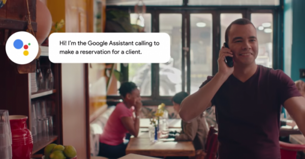 25 procent af Google Duplex-opkaldene kommer fra mennesker