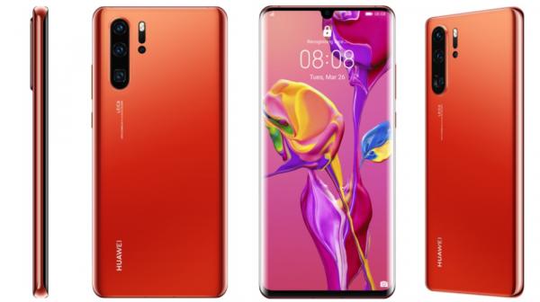 Huawei P30 og P30 Pro kommer til Danmark i farven Amber Sunrise – i meget begrænset antal