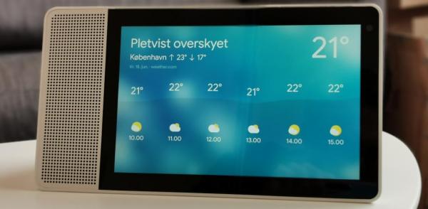Test og anmeldelse af Lenovo Smart Display