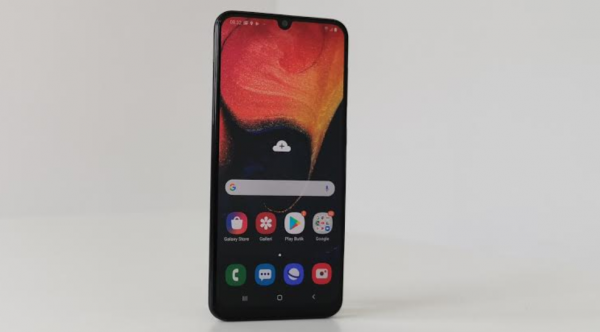 test anmeldelse samsung galaxy a50