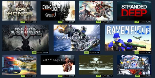 Sommerudsalg hos Steam – spar op mod 75 procent på populære spil