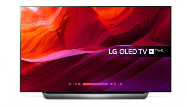 Bedste smart tv LG C8 65 tommer 4K OLED