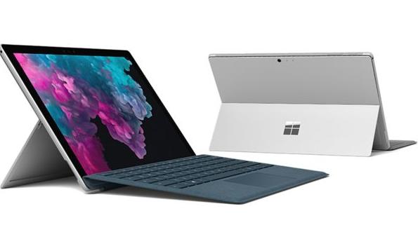 Microsoft Surface Pro 6 bedste laptop pris
