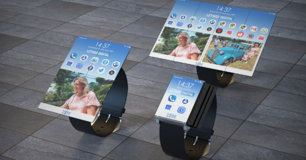 smartwatch fold tablet