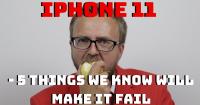 derfor vil iphone XI fejle