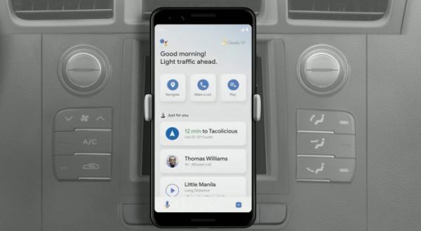 Google Assistant Driving Mode: Dark Mode til Android Auto, men slut med smartphone-versionen