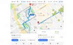 google maps e scooter navigation