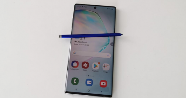 samsung galaxy note 10 plus test note