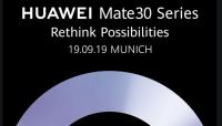 huawei mate 30 pro lancering