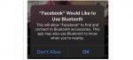 iOS 13 advarer brugerne mod potentiel privacy risiko ved brug af Facebook