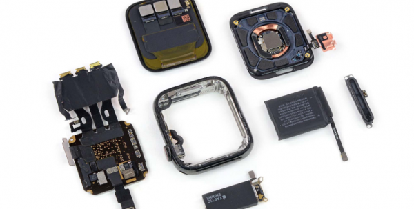 Apple Watch 5 lader til at bestå af omtrent samme komponenter som Apple Watch 4