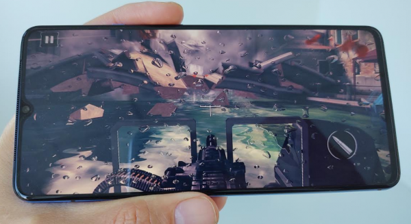 test oneplus 7t gaming
