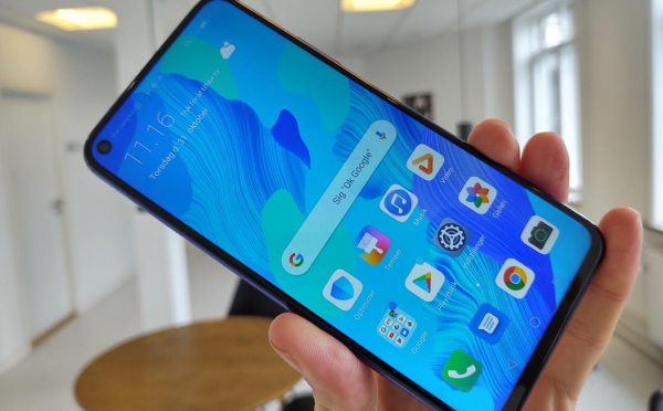 Test og anmeldelse af Huawei Nova 5T:Fornuftig allrounder med lang levetid