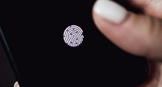 iphone ultra sonisk fingeraftryksscanner