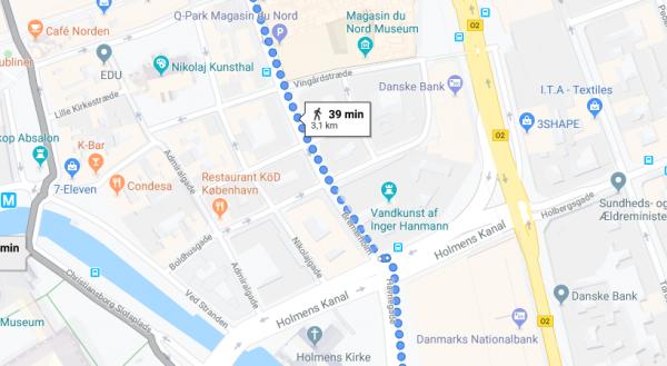 Google Maps kan snart vise sikreste vej at gå på de mest velbelyste gader